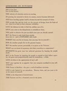 Aphorisms excerpt