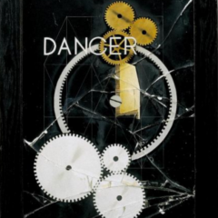 "Man Ray's ""Danger/Dancer"" (1917-1920), an assemblage of gears and mechanical parts."