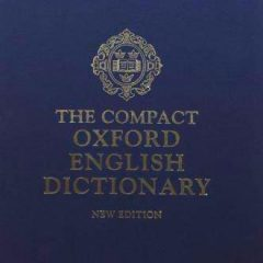 cover of The Compact Oxford English Dictionary