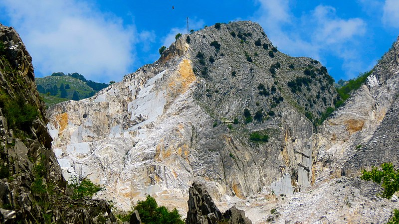 Apuanne Alps near Carrara