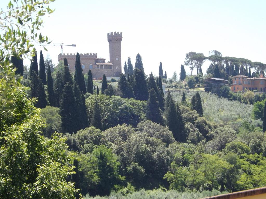 San Leonardo view, castle