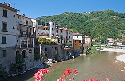 Italian river and town