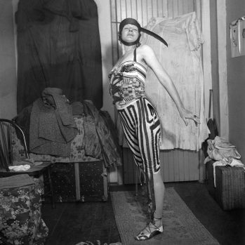 Baroness Elsa von Freytag-Loringhoven in costume