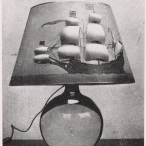 Lamp designed by Loy