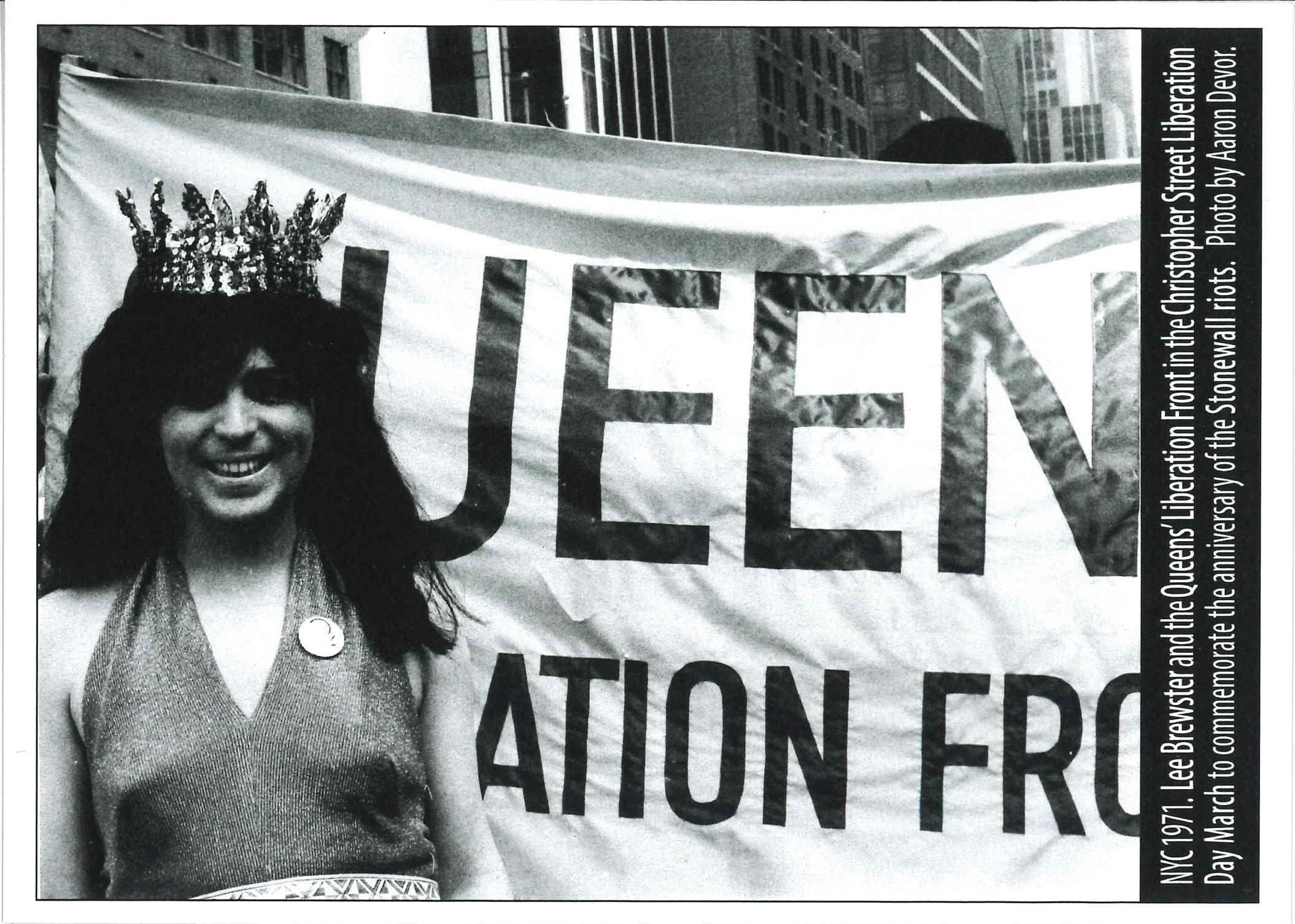 Photo of Lee Brewster, 1971