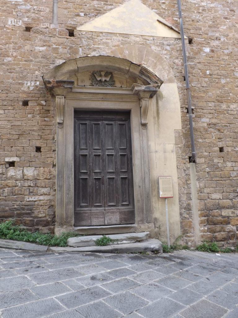 door to Chiesa San Giorgio