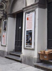 Doorway to Teatro Verdi