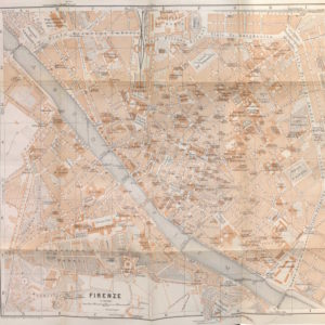 Baedeker Map of Florence (1906)