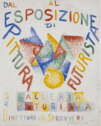 Futurist Exposition Poster