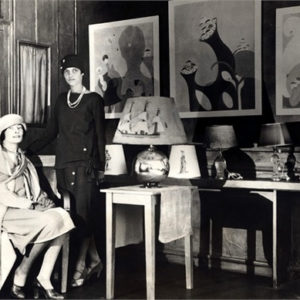 interior of Loy's lamp shop