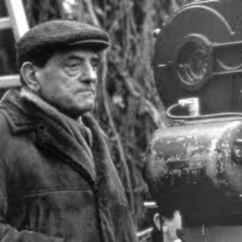 black and white photograph of Luis Bunuel (Portoles)