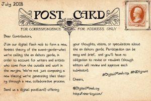 Mina Loy postcard