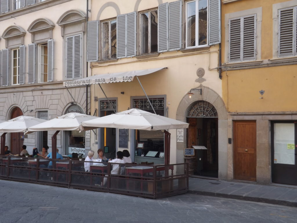 Trattorie across from Pitti Palace