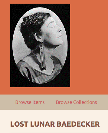 home page of Loy poetry gallery featuring photo of Loy
