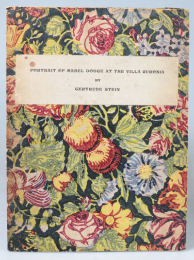 "Cover of Stein's ""Mabel Dodge at the Villa Curonia"""