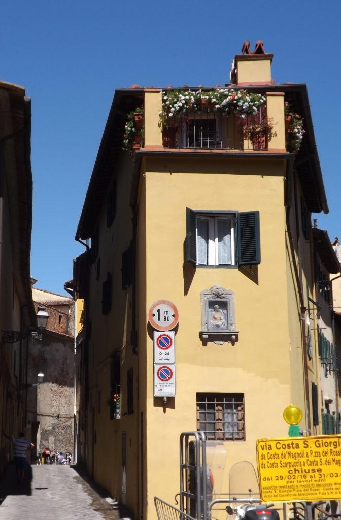 corner of Costa di San Giorgio
