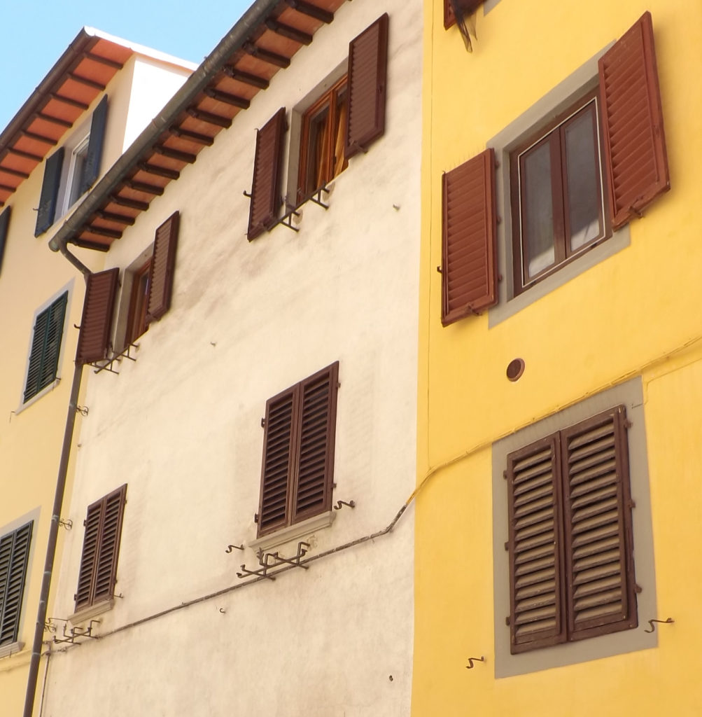 exterior of Costa di San Giorgio 52 and 54