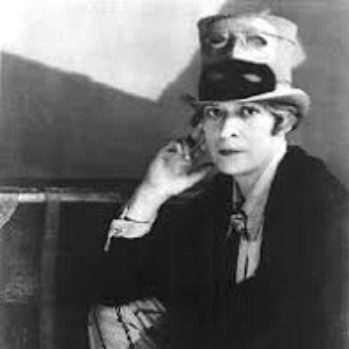 black and white photograph of Janet Flanner
