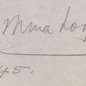 Mina Loy 1945.